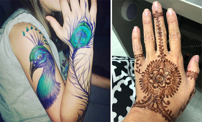 temporary tattoo markers beautiful designs