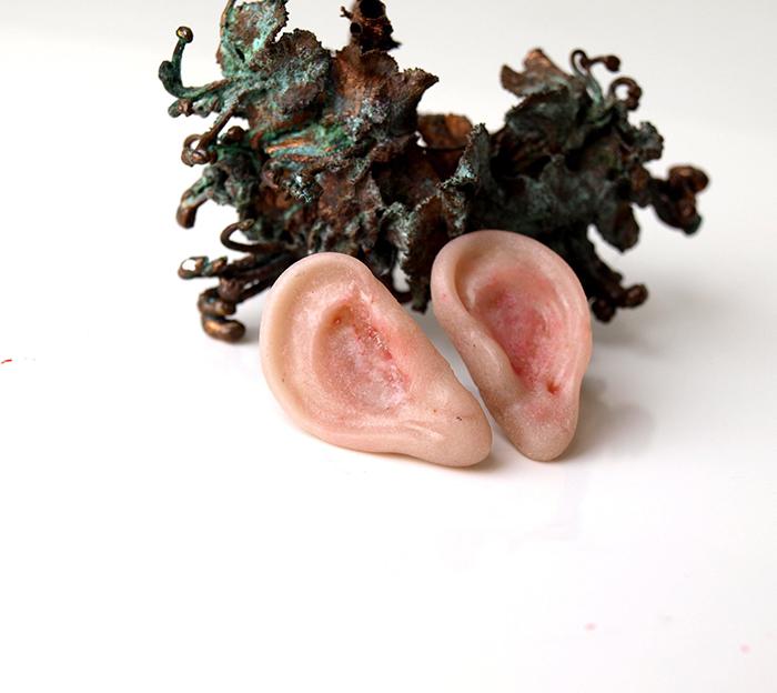 weirdsculpture anatomical jewelry