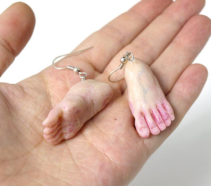 weirdsculpture anatomical polymer clay accessories