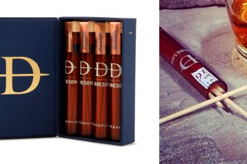 whisky Infused Toothpicks