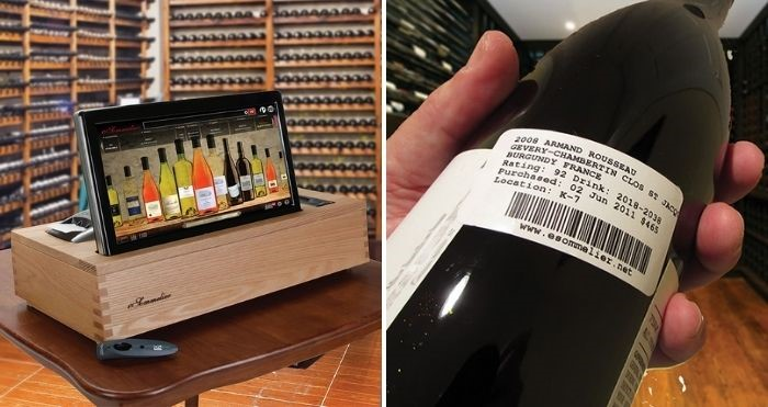 wine cellar management system