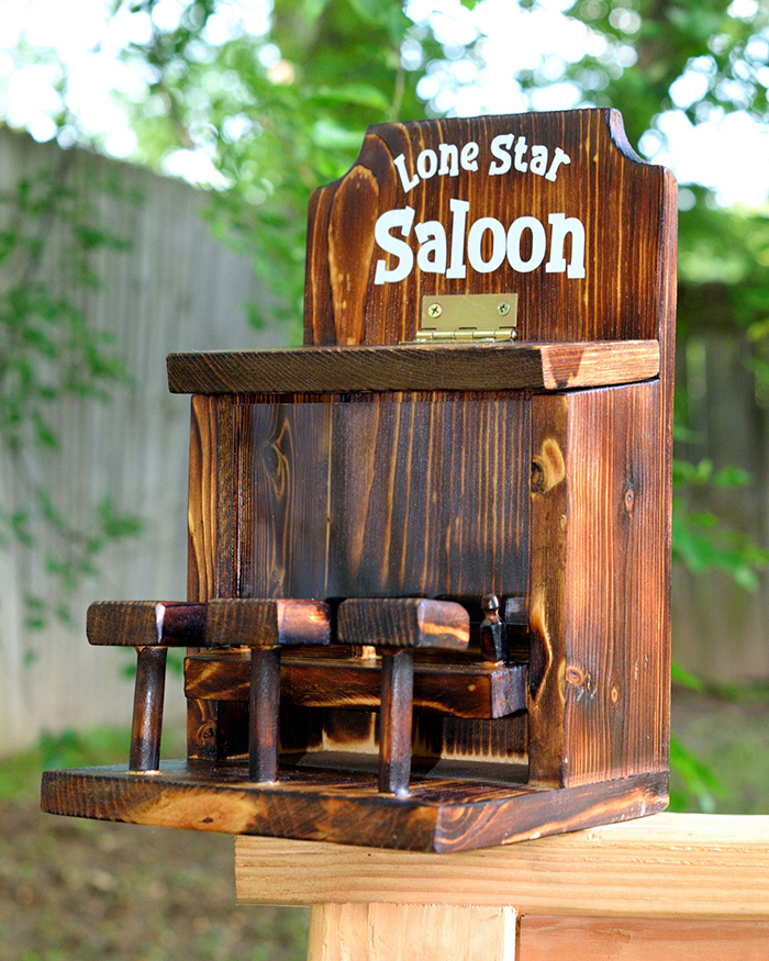 withliftedhandsy squirrel saloon