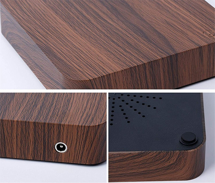 wood finish platform
