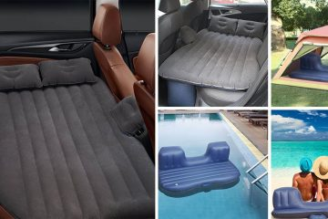 Back Seat Inflatable Mattress