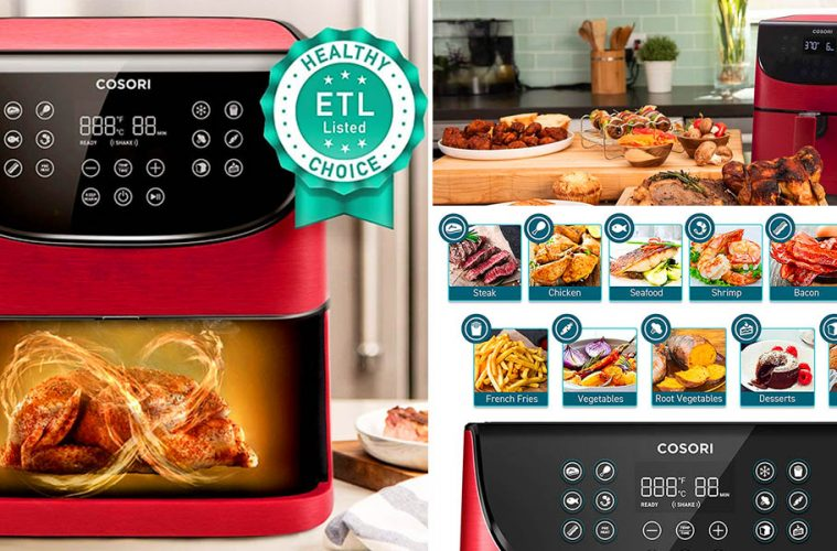 Digital Air Fryer With LED Touchscreen