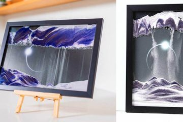 Moving Sand Art picture frame