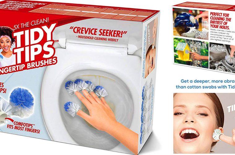 Tidy Tips Fingertip brushes