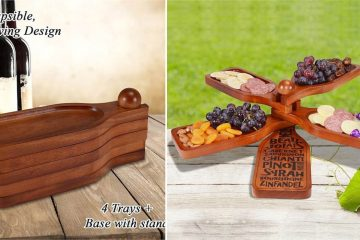Wine Bottle-Shaped Appetizer Plate
