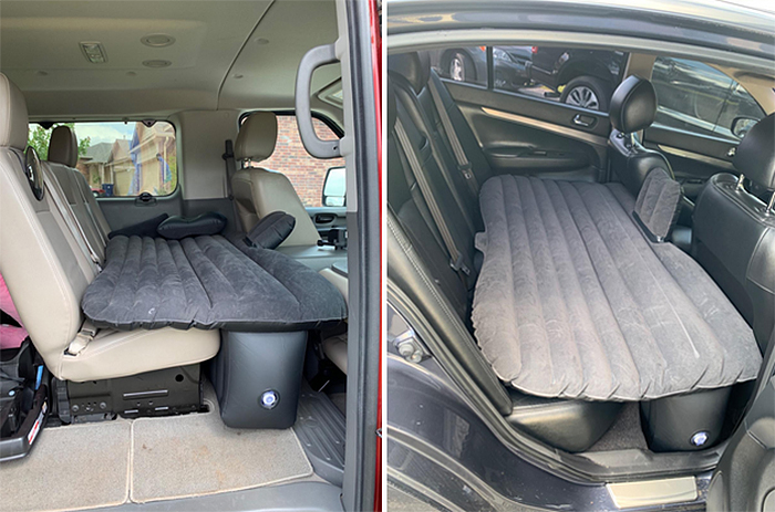 back seat inflatable mattress for cars
