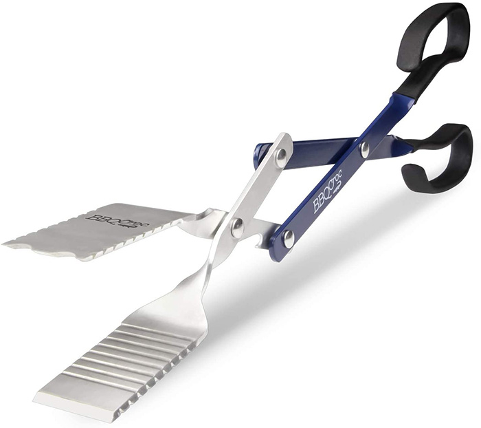 bbq croc 18 inch 4 in 1 bbq tongs spatula