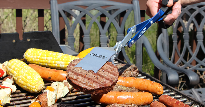 bbq croc multipurpose cooking tool for grilling burger patties
