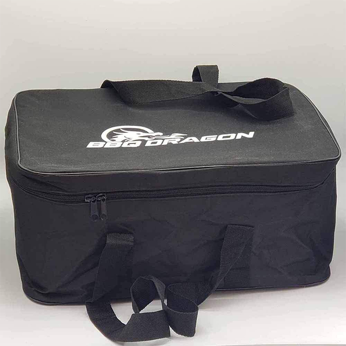 bbq grill with built-in fan travel bag