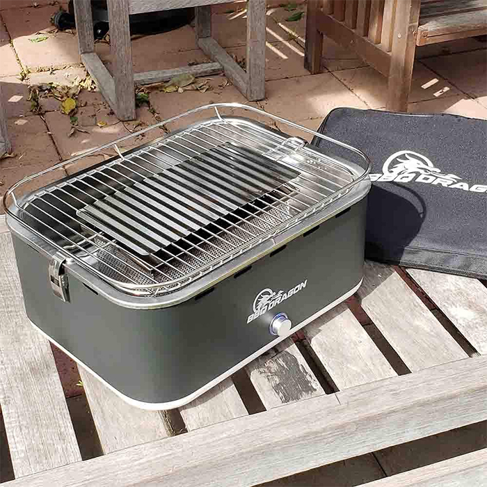 bbq grill with built-in fan
