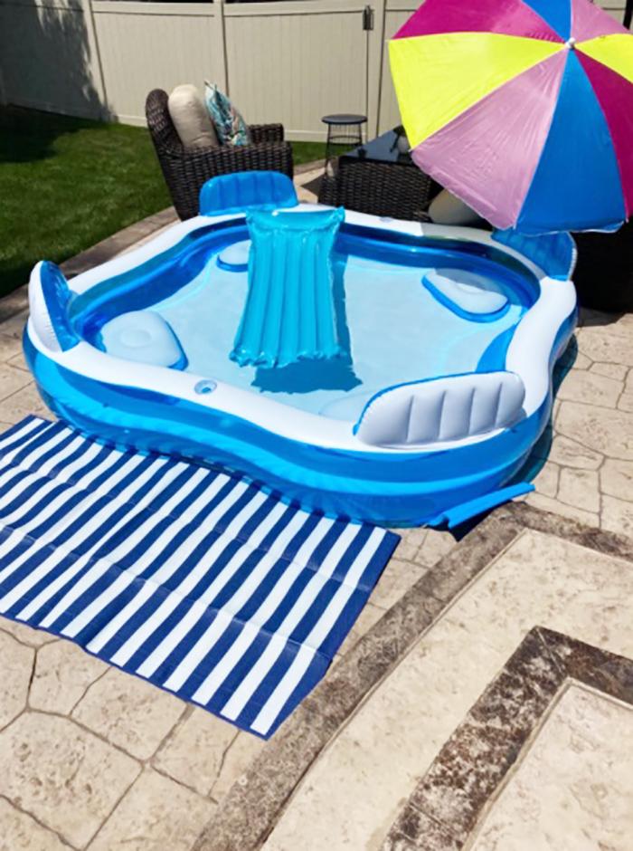 blow up pool lounge customer review tanisha bowman