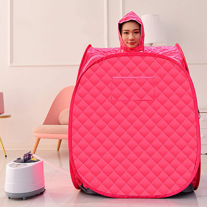 compact full body steam bath kit