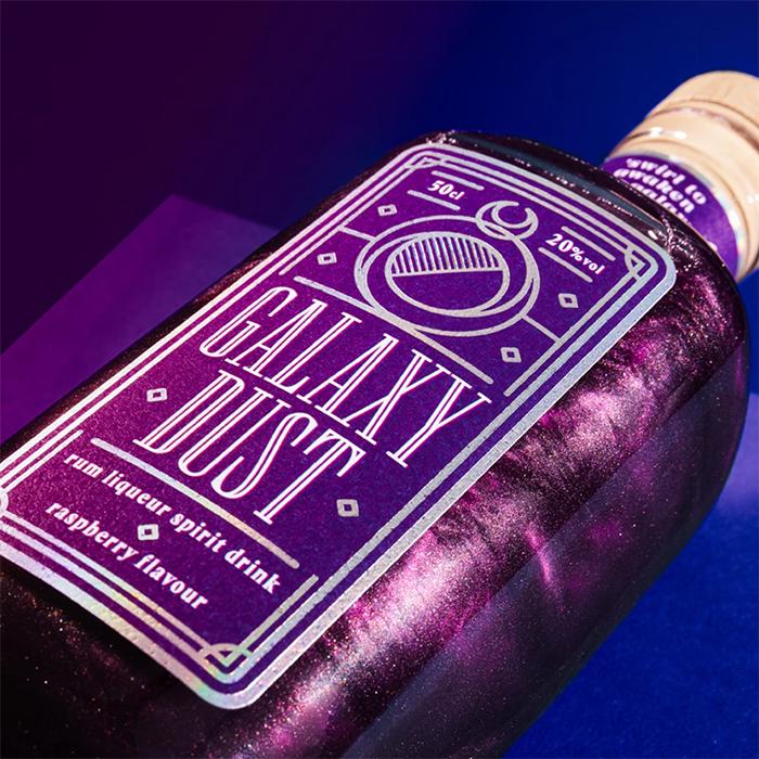 cosmic-inspired liquor raspberry flavor