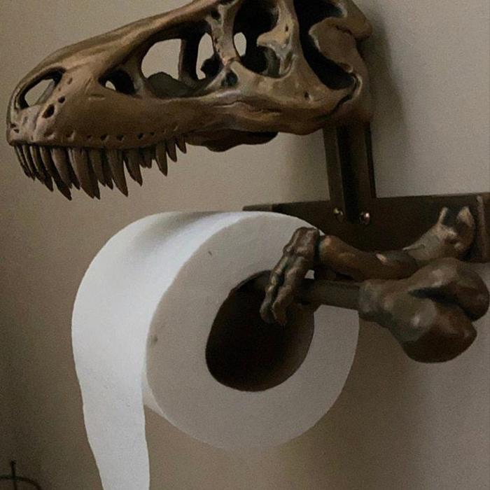 dinosaur skull tissue dispenser review rebecca schenck