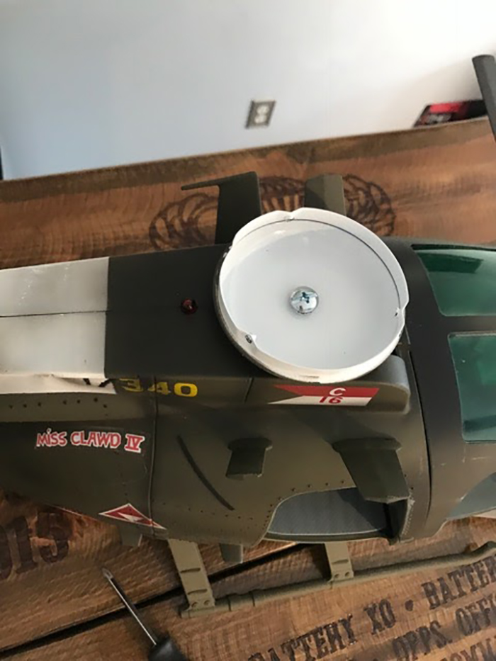diy helicopter ceiling fan parts