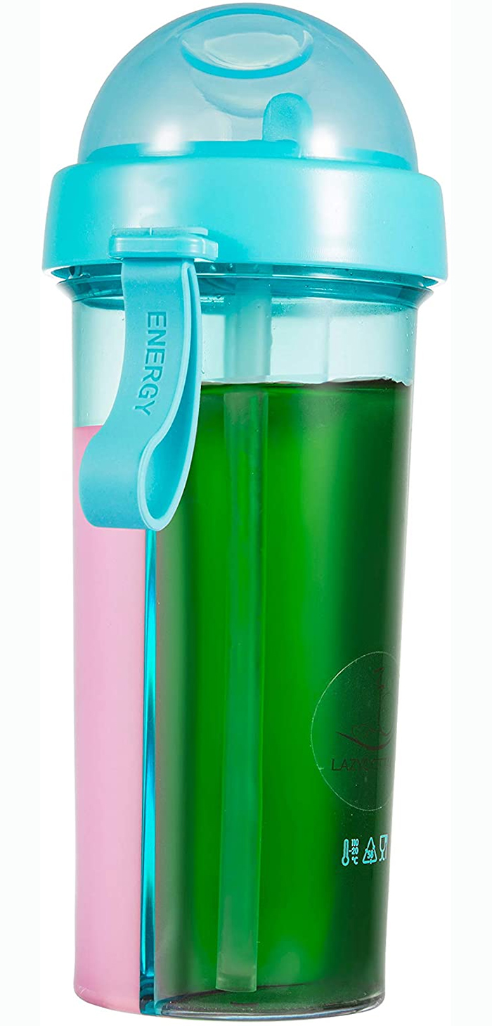 double-sided sippy cup blue