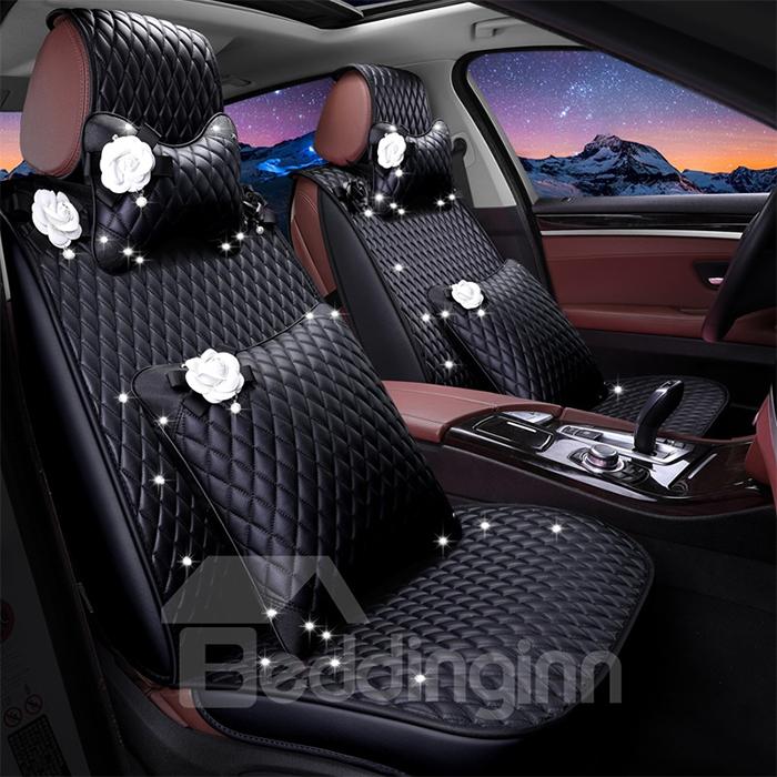 elegant leather ornamental upholstery cover