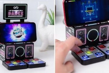 finger dance machine