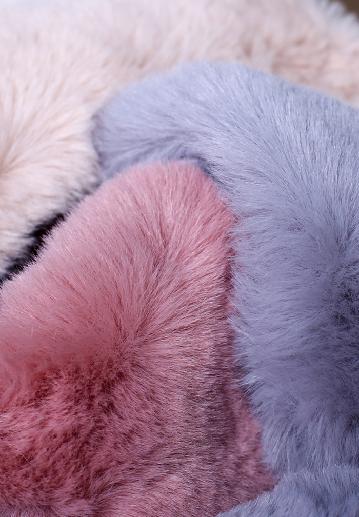 fluffy toilet seat cover faux mink fur
