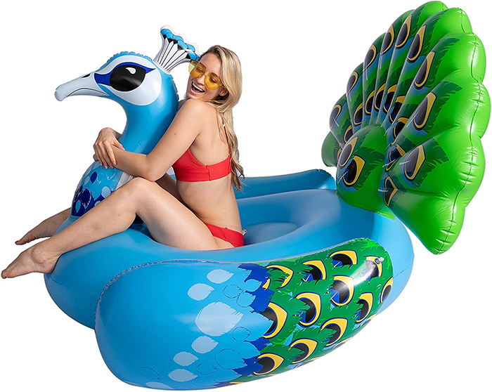 giant bird lounger inflatable