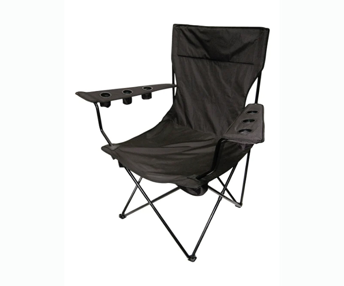 giant folding chair black