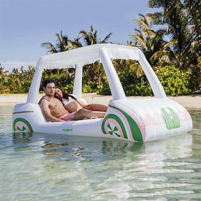 golf cart pool float inflatable