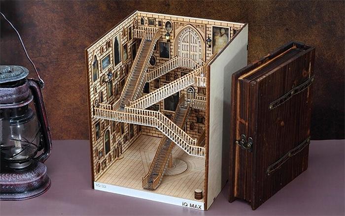 hogwarts-inspired book nook