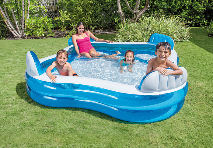 inflatable lounge chair pool for kids and adults