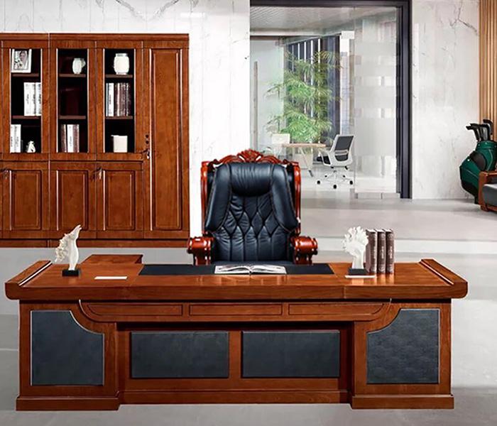 luxurious leather office armchair