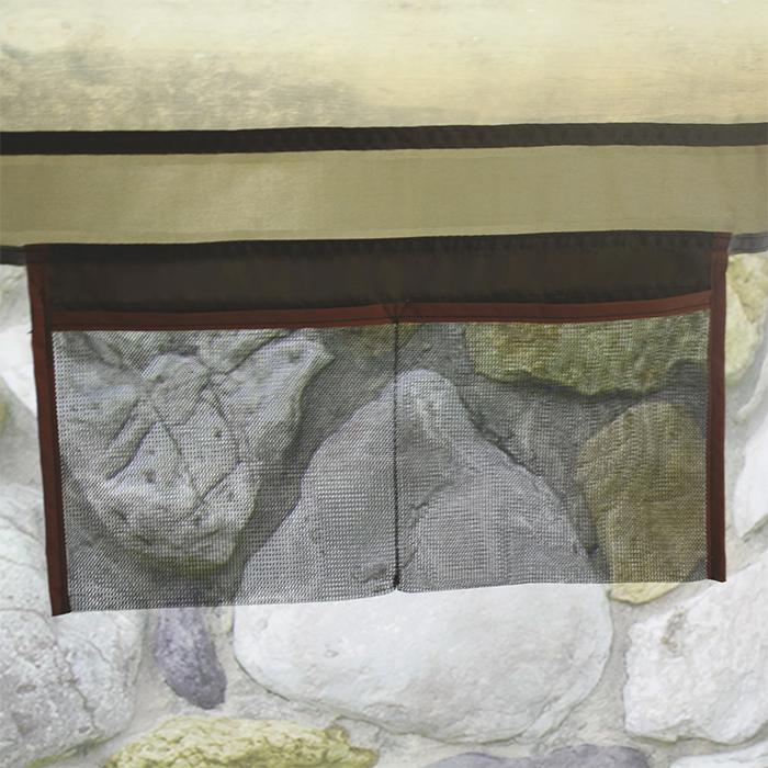 mesh pockets inner wall