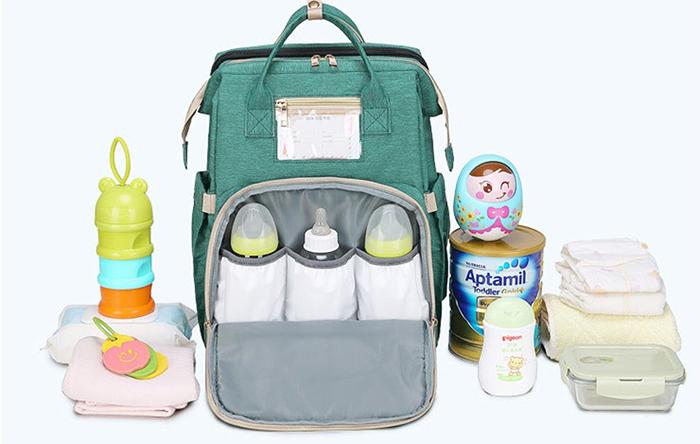 multifunctional baby bag 2-in-1