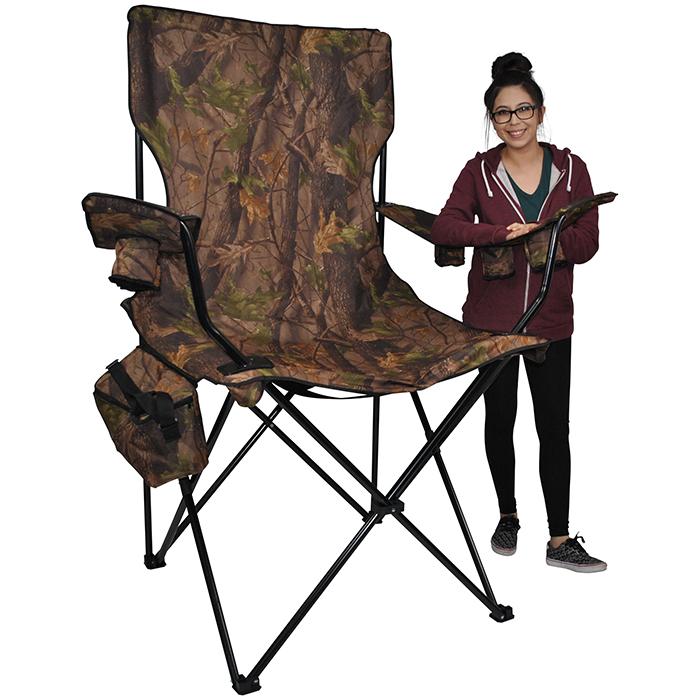 oversized foldable chair hunter camo