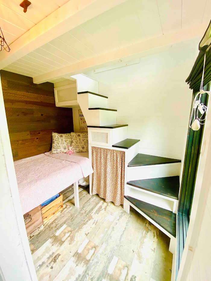 perch and nest roost36 in nc tiny home single bed nook