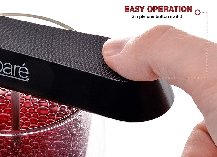 pocket wine aerator easy operation