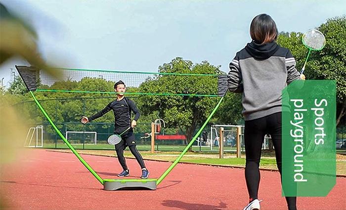 portable badminton net sports playground