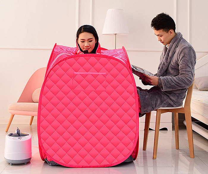 portable steam sauna for 2 persons