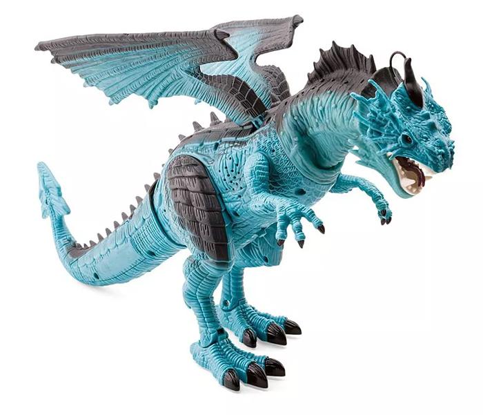 realistic blue dragon action figure