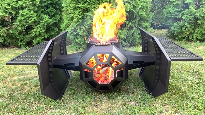 star wars starfighter inspired cooker