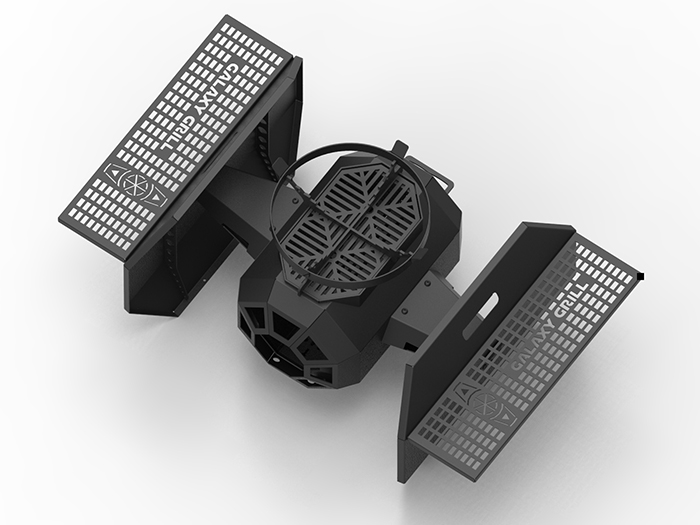 star wars tie fighter bbq grill