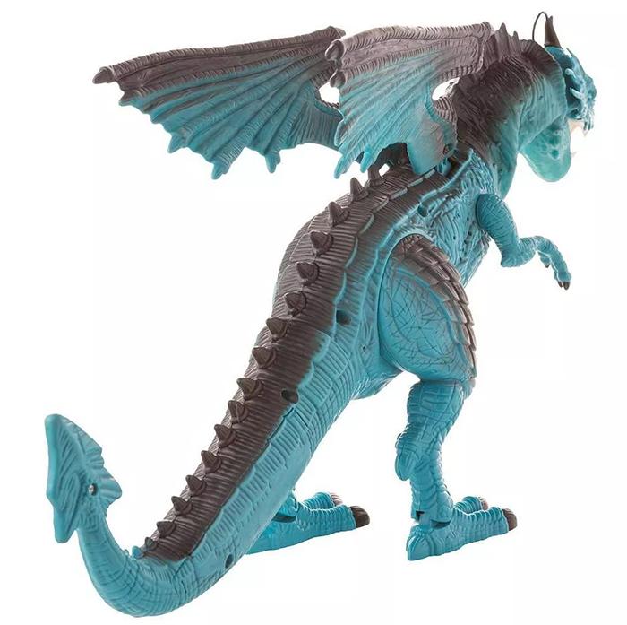 steam-breathing dragon back