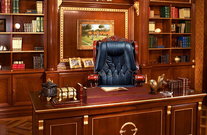 timko ultimate genuine leather executive chair