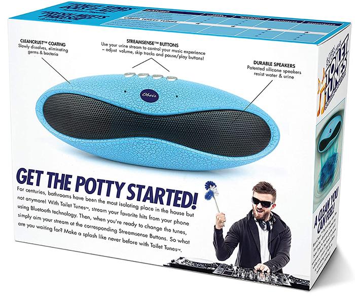 toilet tunes prank gift box