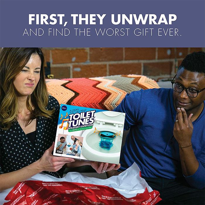 toilet tunes worst gift