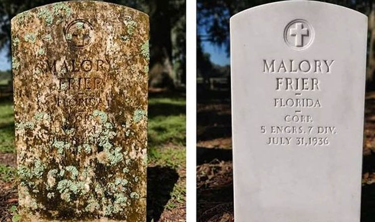 tombstone cleaning