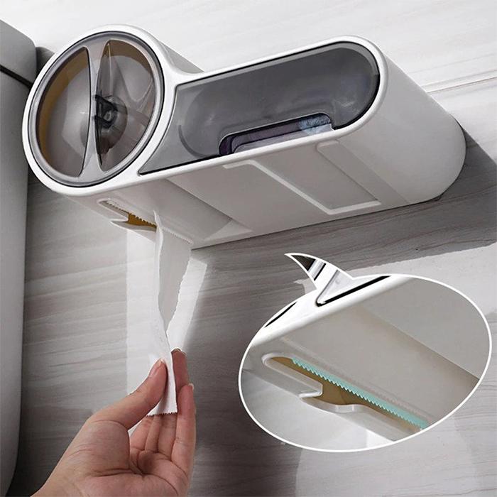 tp dispenser with storage box
