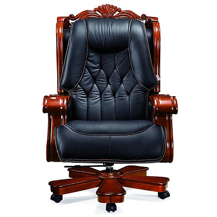 ultimate genuine leather executive chair