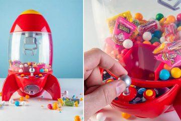 Desktop Rocket Candy Grabber